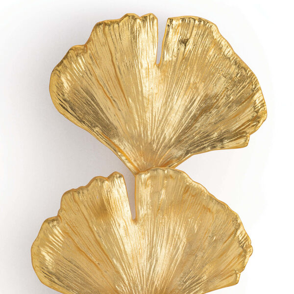 Ginkgo Gold Two-Light Wall Sconce, image 4