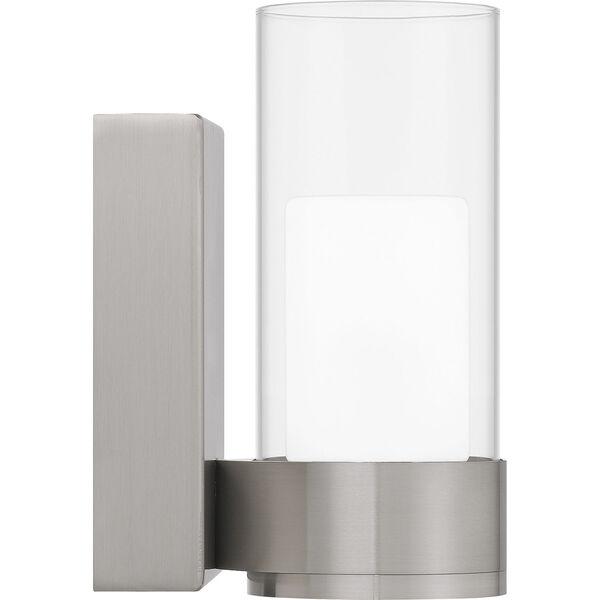 Logan Brushed Nickel LED Wall Sconce, image 4