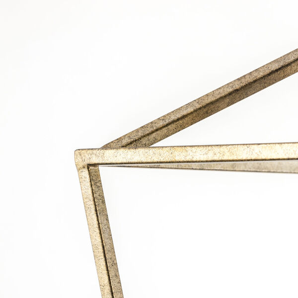 Vintage Gold 16-Inch Four-Light Pendant, image 8