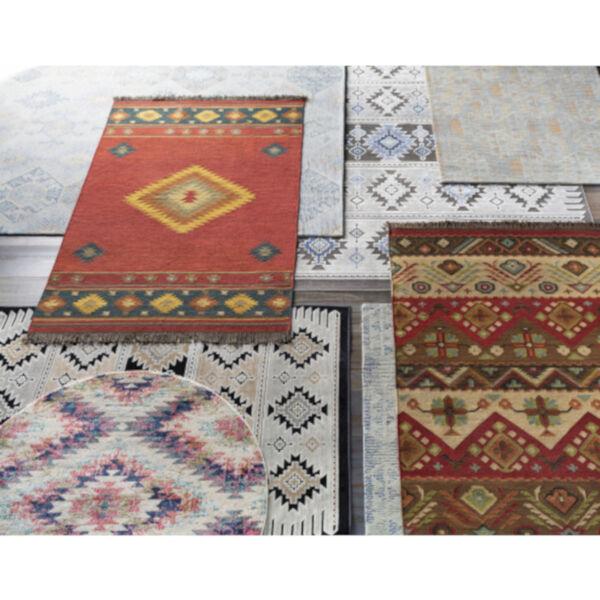 Jewel Tone Multicolor Rectangular Rug, image 3