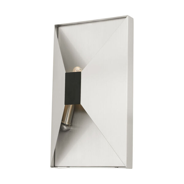 Lexford Brushed Nickel Two-Light ADA Wall Sconce, image 4