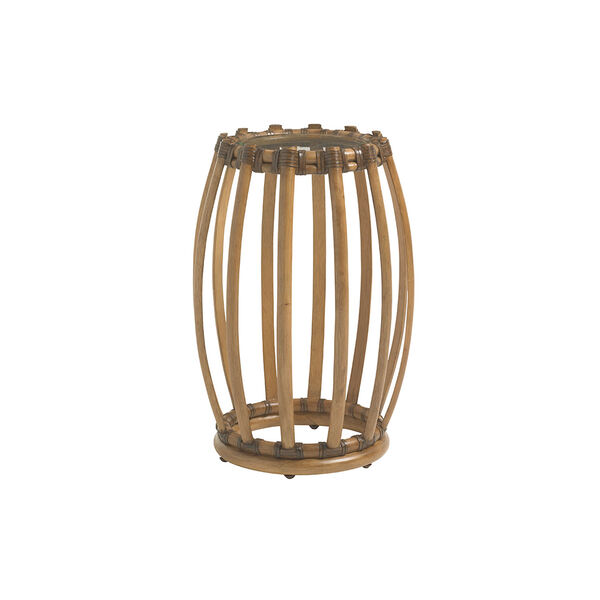 Twin Palms Brown Weston Accent Table, image 1