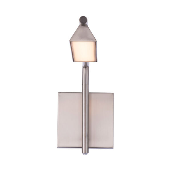 Eero Brushed Nickel LED Swing Arm Wall Light, image 2
