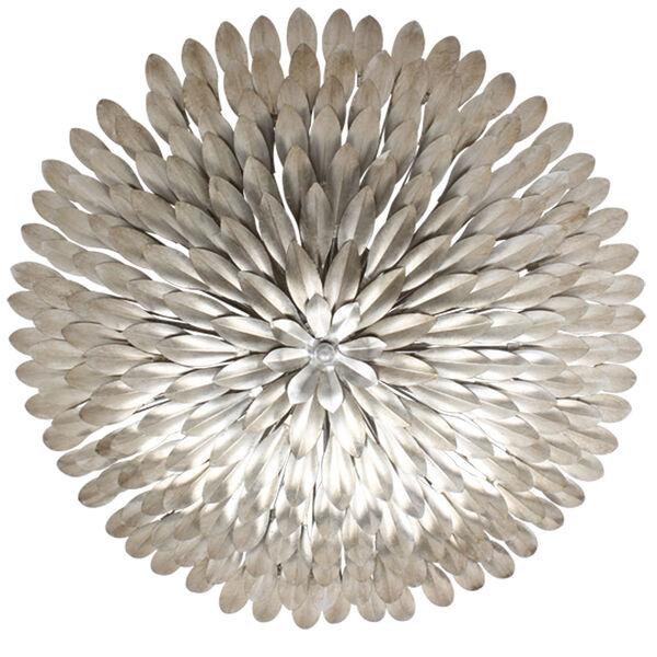 Broche Antique Silver Six-Light Flush Mount, image 2