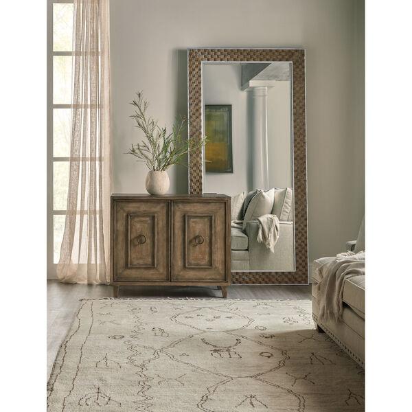 Sundance Dark Brown and Silver Floor Mirror, image 3