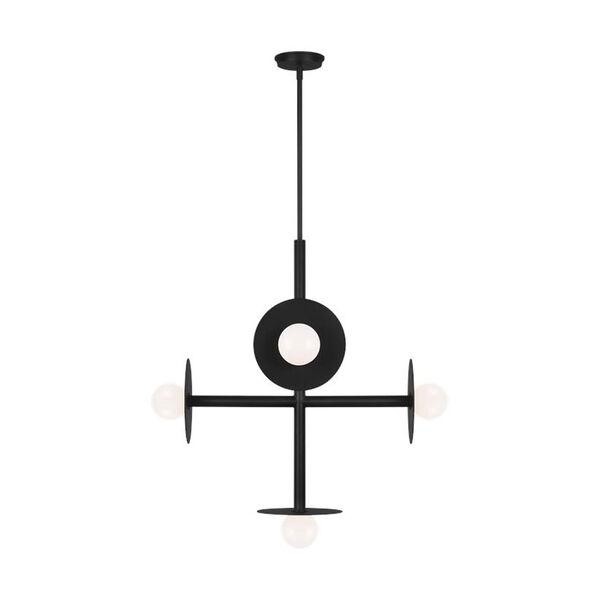 Nodes Midnight Black Large Chandelier, image 2