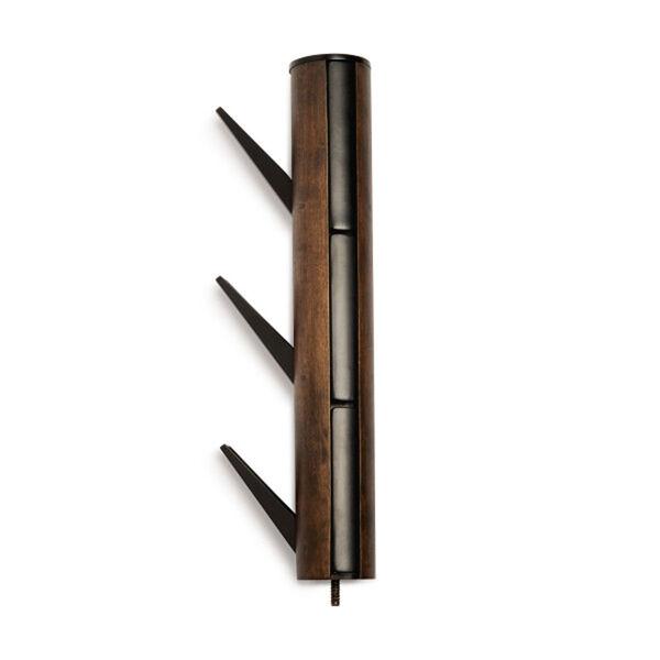 Flapper Black and Walnut Coat Rack, image 3