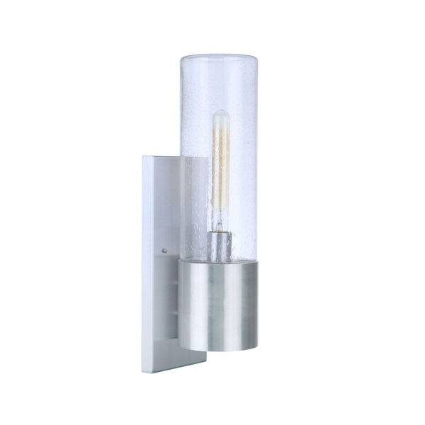 Sabre Satin Aluminum 20-Inch One-Light Outdoor Wall Sconce, image 1
