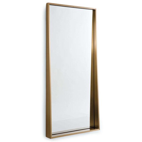 Gunner Brass Wall Mirror, image 1