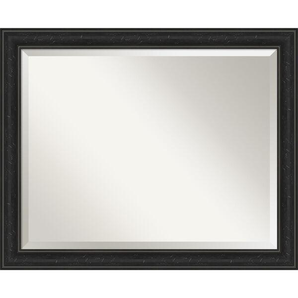 Shipwreck Black 32W X 26H-Inch Bathroom Vanity Wall Mirror, image 1