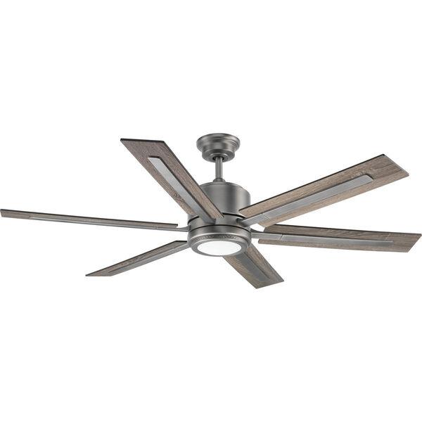 P2586-8130K: Glandon Antique Nickel LED Ceiling Fan, image 1