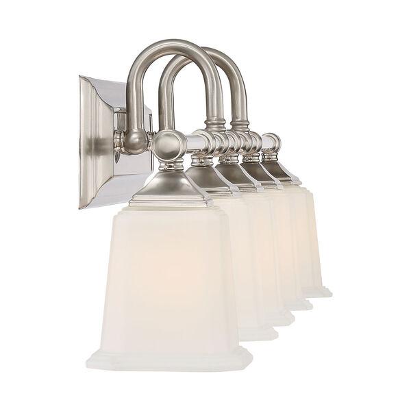 Nicholas Brushed Nickel Five-Light Bath Light, image 4