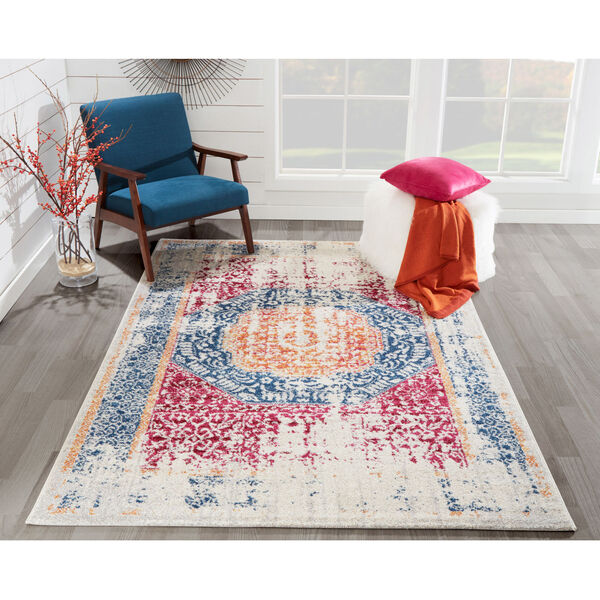 Haley Multicolor Rectangular: 9 Ft. 3 In. x 12 Ft. 6 In. Rug, image 2