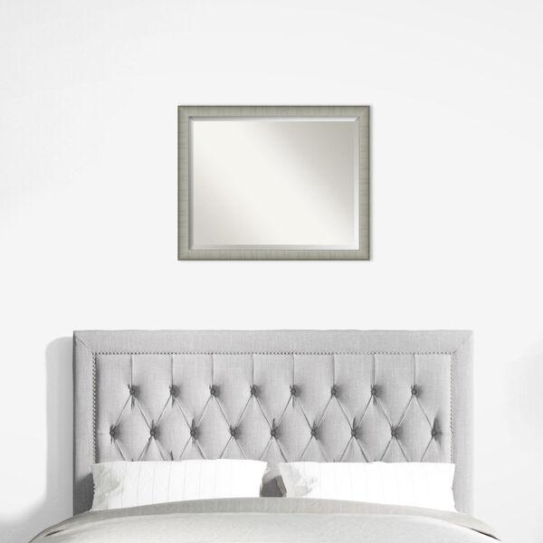 Elegant Pewter 31W X 25H-Inch Bathroom Vanity Wall Mirror, image 6