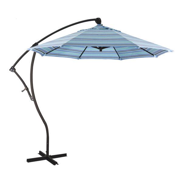 Bayside Bronze with Dolce Oasis Nine-Feet Sunbrella Patio Umbrella, image 1