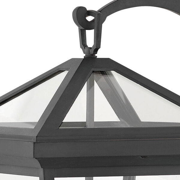 Alford Place Museum Black Three-Light Outdoor Large Wall Mount, image 4