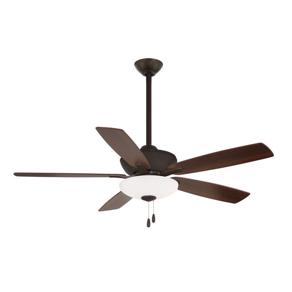 Minute Oil Rubbed Bronze 52-Inch Energy Star LED Ceiling Fan, image 1