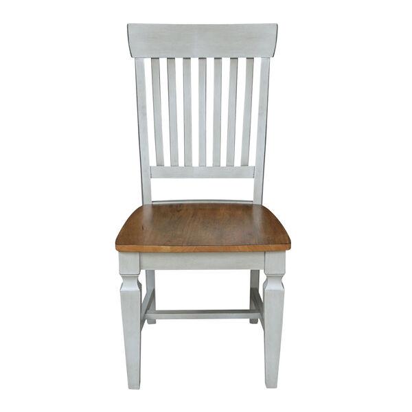 Vista Hickory Stone Slat Back Chair, Set of Two, image 2