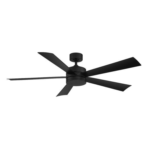 Wynd Matte Black 60-Inch ADA LED Ceiling Fan, image 4