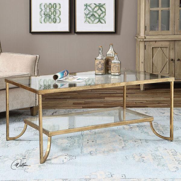 Katina Gold Leaf Coffee Table, image 2