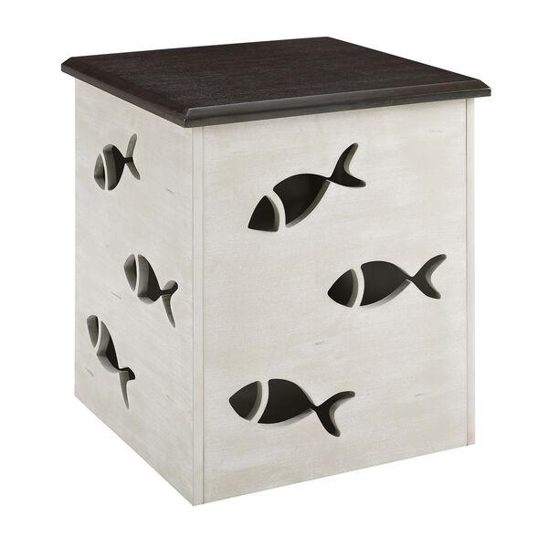 Camila Cream Square Fish Table, image 5