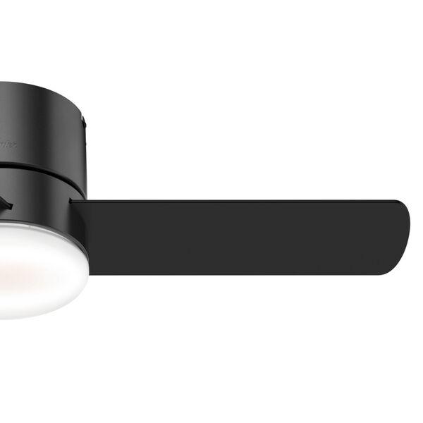 Minimus Low Profile Matte Black 44-Inch LED Ceiling Fan, image 4