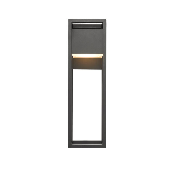 Barwick Black 8-Inch One-Light LED Outdoor Wall Sconce, image 4