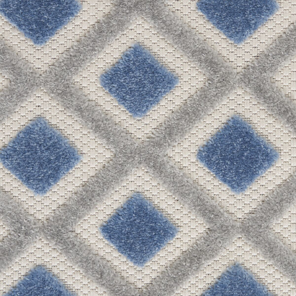 Aloha Blue and Gray Indoor/Outdoor Area Rug, image 6