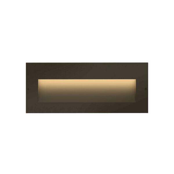 Taper Bronze ADA LED Outdoor Step Light, image 1