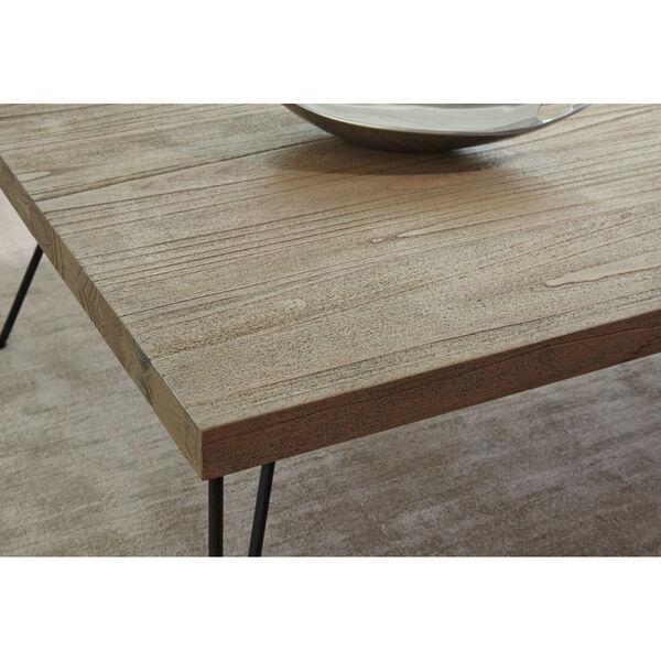 Everett Natural Rectangular Chairside Table, image 3