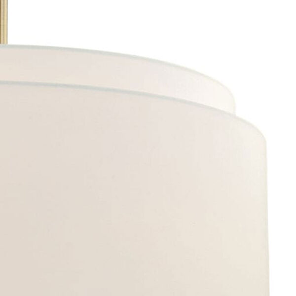 Burnaby Matte Brass Four-Light Pendant, image 3