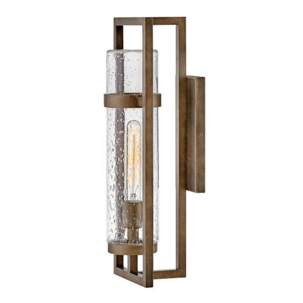 Cordillera Burnished Bronze One-Light 8-Inch Outdoor Wall Mount, image 2
