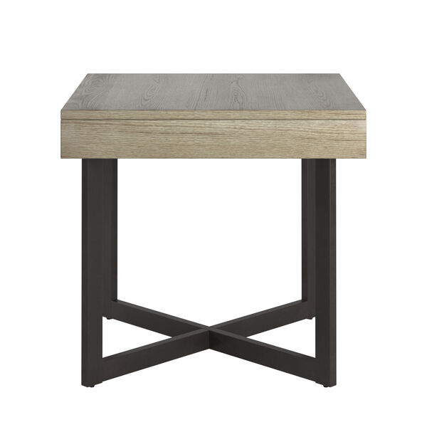Hunter White End Table with One Drawer, image 2