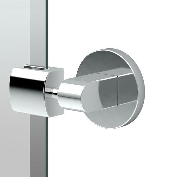 Zone Chrome Tilting Rectangular Mirror, image 2
