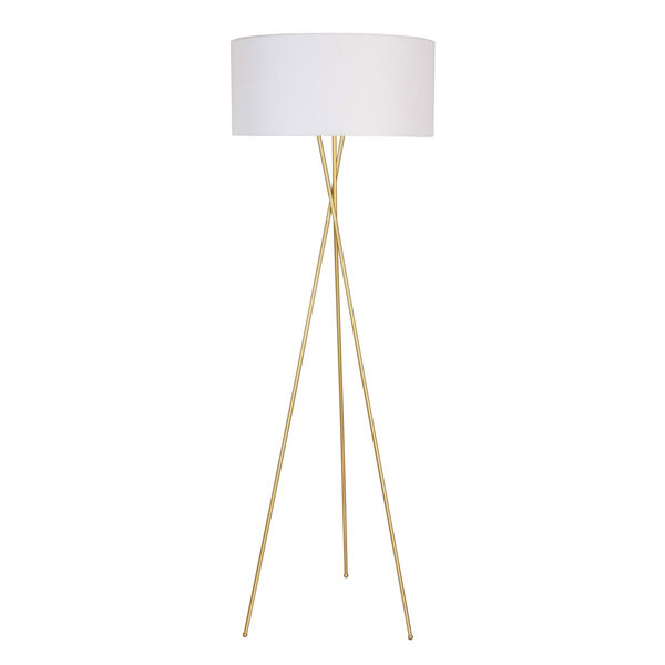 Cason Brass 66-Inch One-Light Floor Lamp, image 3