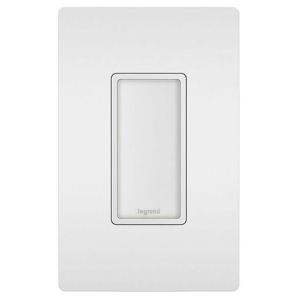 White Full Night Light with Adjustable Light Levels, image 2