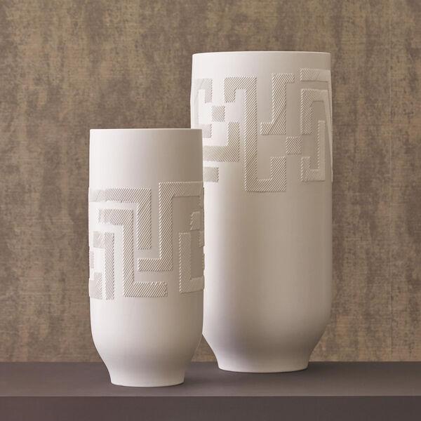 Studio A Home Matte White Small Chaco Vase, image 3