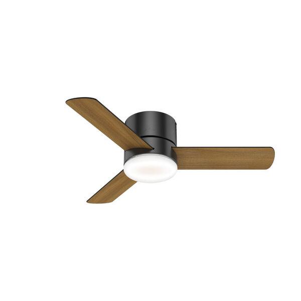 Minimus Low Profile Matte Black 44-Inch LED Ceiling Fan, image 3