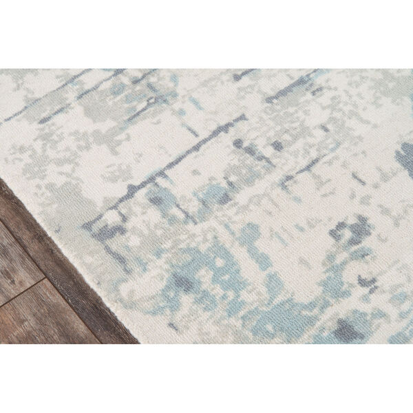 Illusions Abstract Blue Rectangular: 7 Ft. 6 In. x 9 Ft. 6 In. Rug, image 3