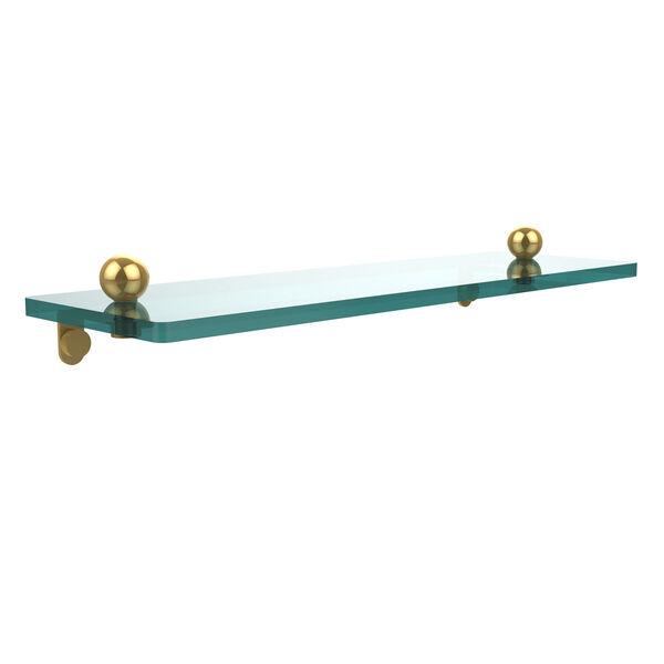 Prestige Regal Polished Brass Single Shelf, image 1