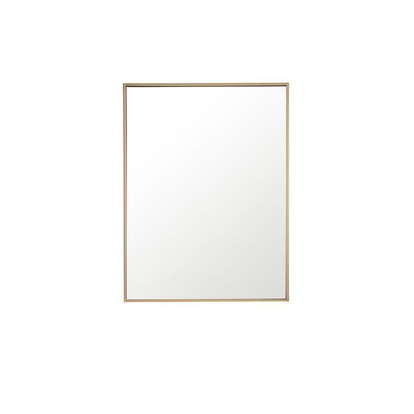 Eternity Brass 32-Inch Mirror, image 2