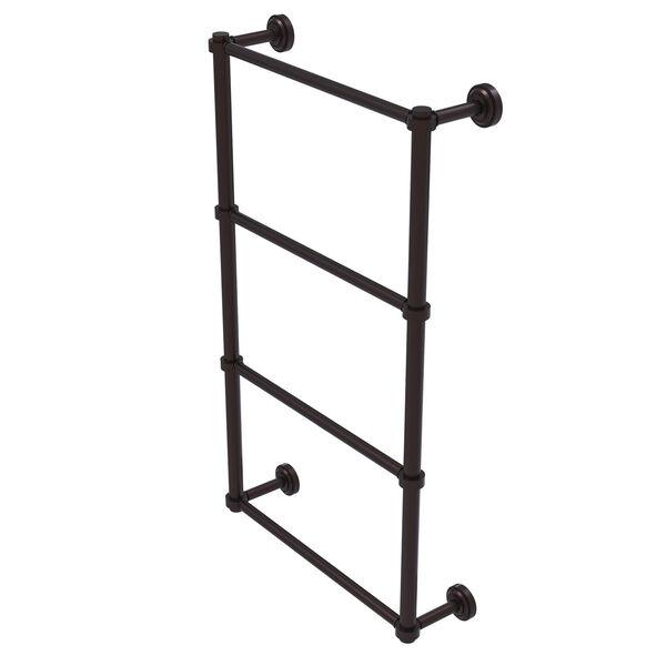 Dottingham Antique Bronze 36-Inch Four-Tier Ladder Towel Bar, image 1