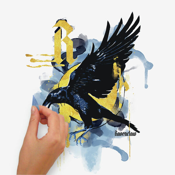 Harry Potter Hogwarts House Orange, Yellow And Blue Peel and Stick wall Decal - SAMPLE SWATCH ONLY, image 4