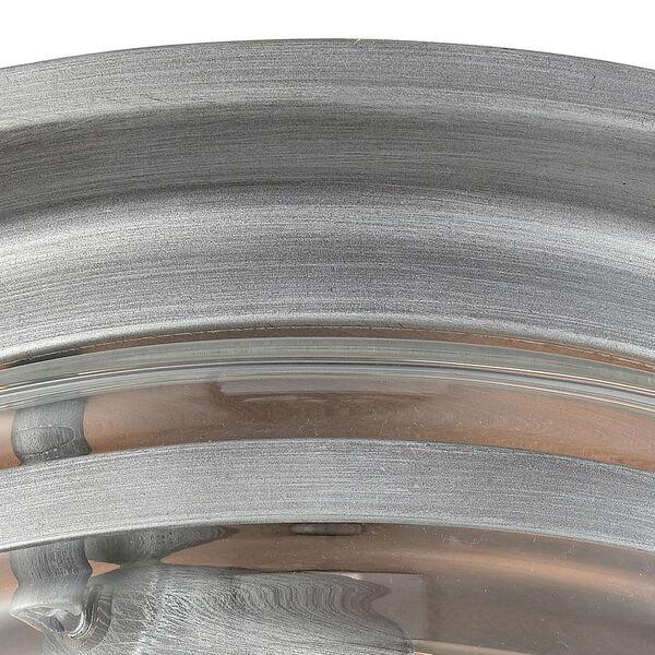 Riley Weathered Zinc Two-Light Flush Mount, image 5