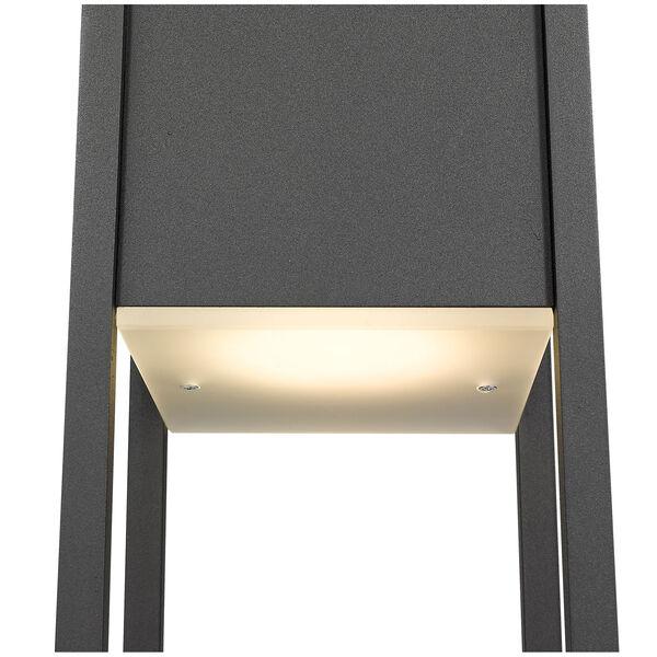 Barwick Black 29-Inch One-Light LED Outdoor Pier Mount, image 6
