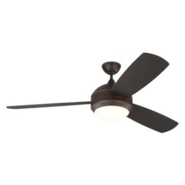 Discus Trio Max Roman Bronze 58-Inch LED Ceiling Fan, image 3