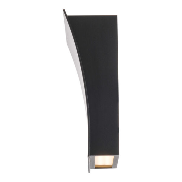 Slide Black Two-Light LED 3000K Wall Sconce, image 3