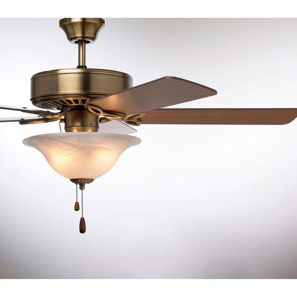Pro Series Antique Brass 50-Inch Ceiling Fan, image 6
