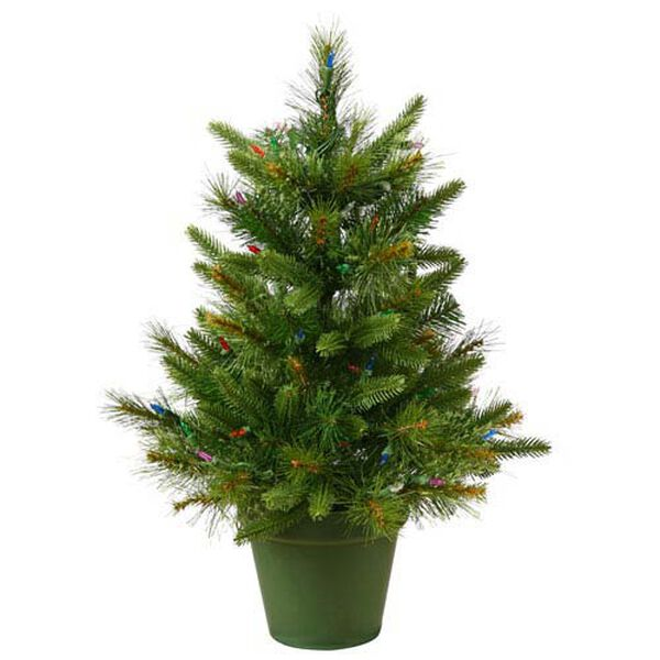 Green Cashmere Pine Christmas Tree 2-foot, image 1