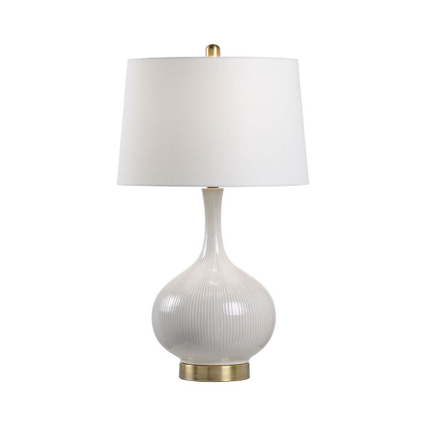 MarketPlace Almond Glaze One-Light Table Lamp, image 1